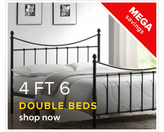 Double Beds 4 Ft 6