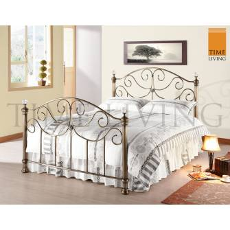 Win any size Victoria metal bed frame!