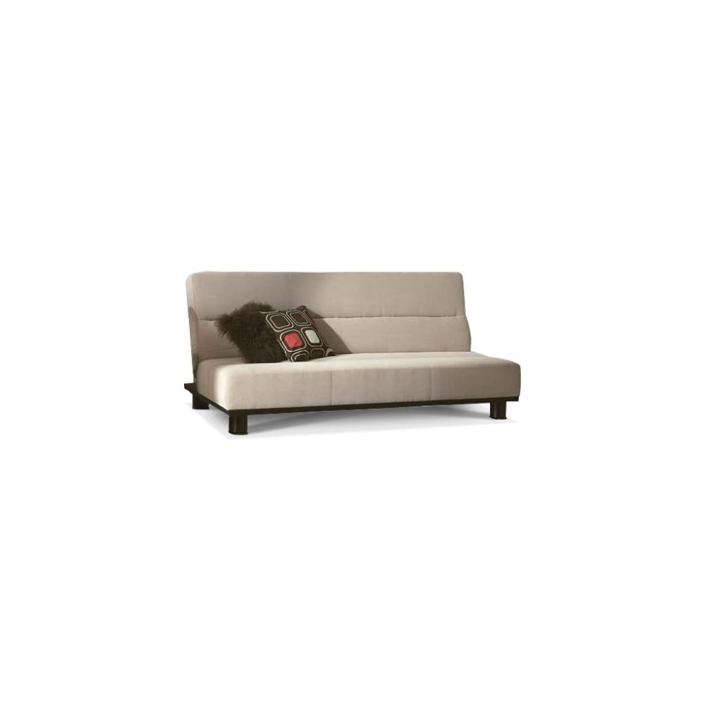 Limelight triton double 4ft6 beige sofa bed for Beige divan bed