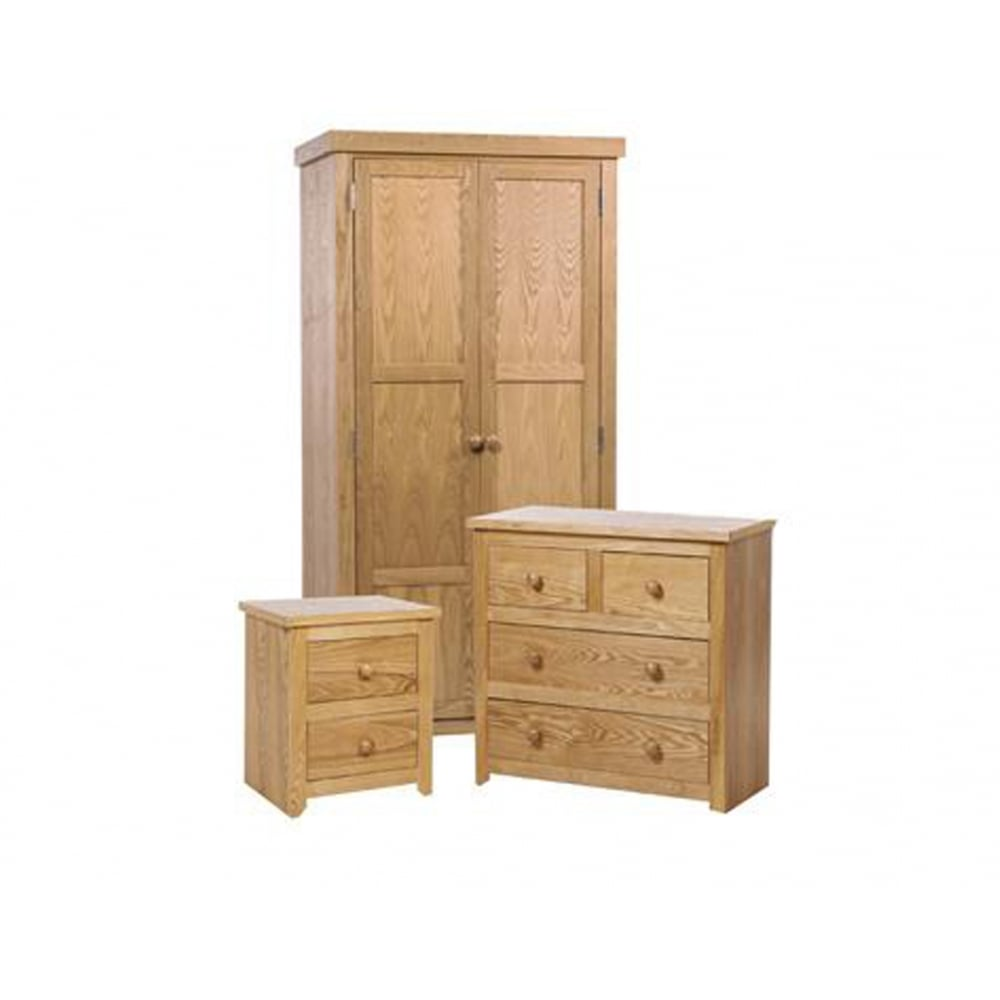 Discounted hmset1 hamilton mellow oak bedroom furniture for I furniture hamilton