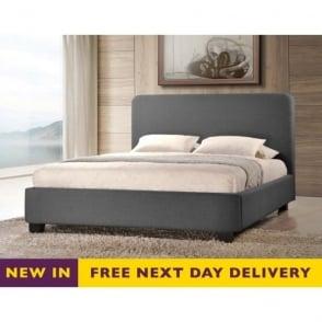 OPAL4GREY Opalia 4ft Grey Fabric Bed