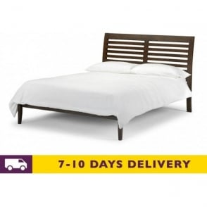 Santiago 4ft6 Double Wenge Bed