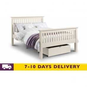Barcelona 5ft Stone White Pine King Size Bed
