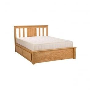 Vesta Oak 5ft King Size Bed
