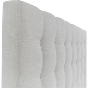 Taylor 4ft6 Double Linen Mix Ivory Bed