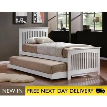 Birlea Beds Toronto White 3ft Single Bed TORB3WHT