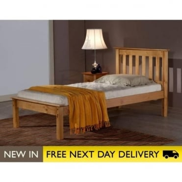 Birlea Beds Denver Pine 3ft Single Wooden Bed DENB3PIN