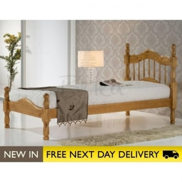 Birlea Beds Texas Pine 3ft Single Wooden Bed TEXB3PIN