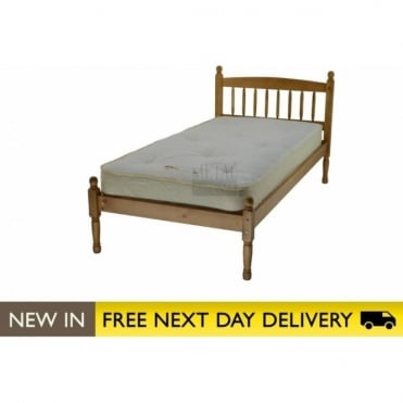 Baltic Pine 3ft Single Wooden Bed