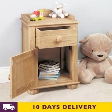 CCO10A Amelie Oak Bedside Cabinet