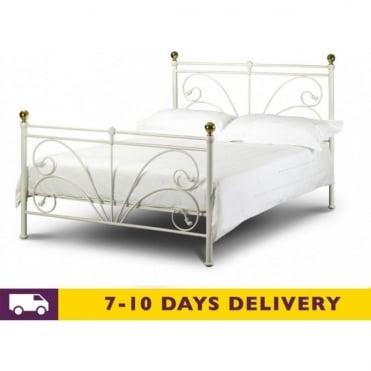 Cadiz 4ft6 Double Metal Bed