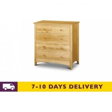 Kendal 3 & 2 Solid Pine Chest of Drawers