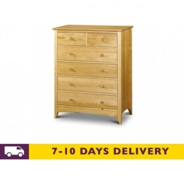 Kendal 4 & 2 Solid Pine Chest of Drawers