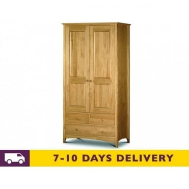 Kendal Solid Pine Combination Wardrobe