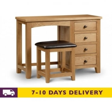 Marlborough Single Pedestal Dressing Table