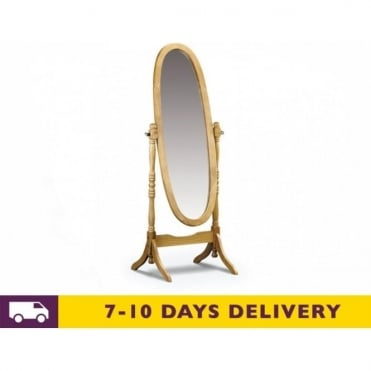 Pickwick Solid Pine Cheval Mirror
