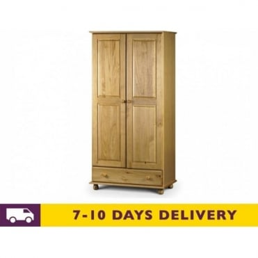Pickwick Combination Solid Pine Wardrobe