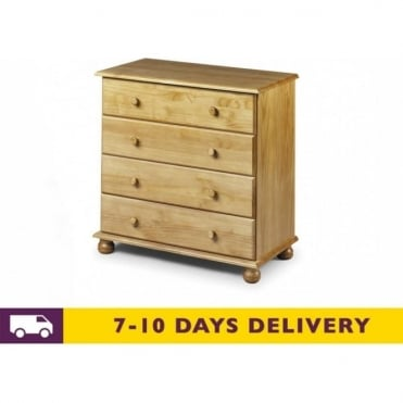 Pickwick 4 Drawer Pine Chest