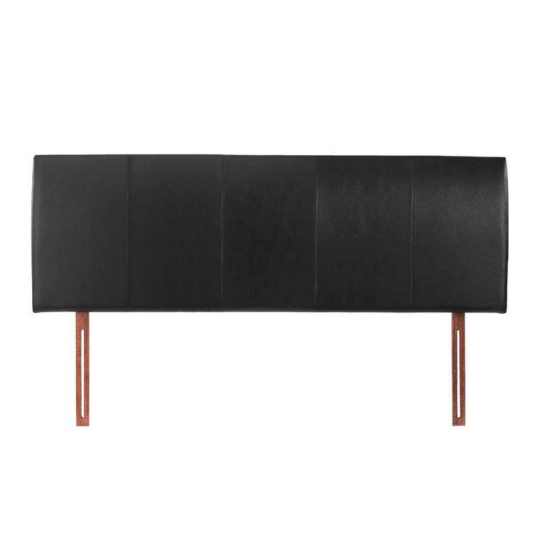 Buy Black King Size 5ft Headboard Faux Leather Hamburg