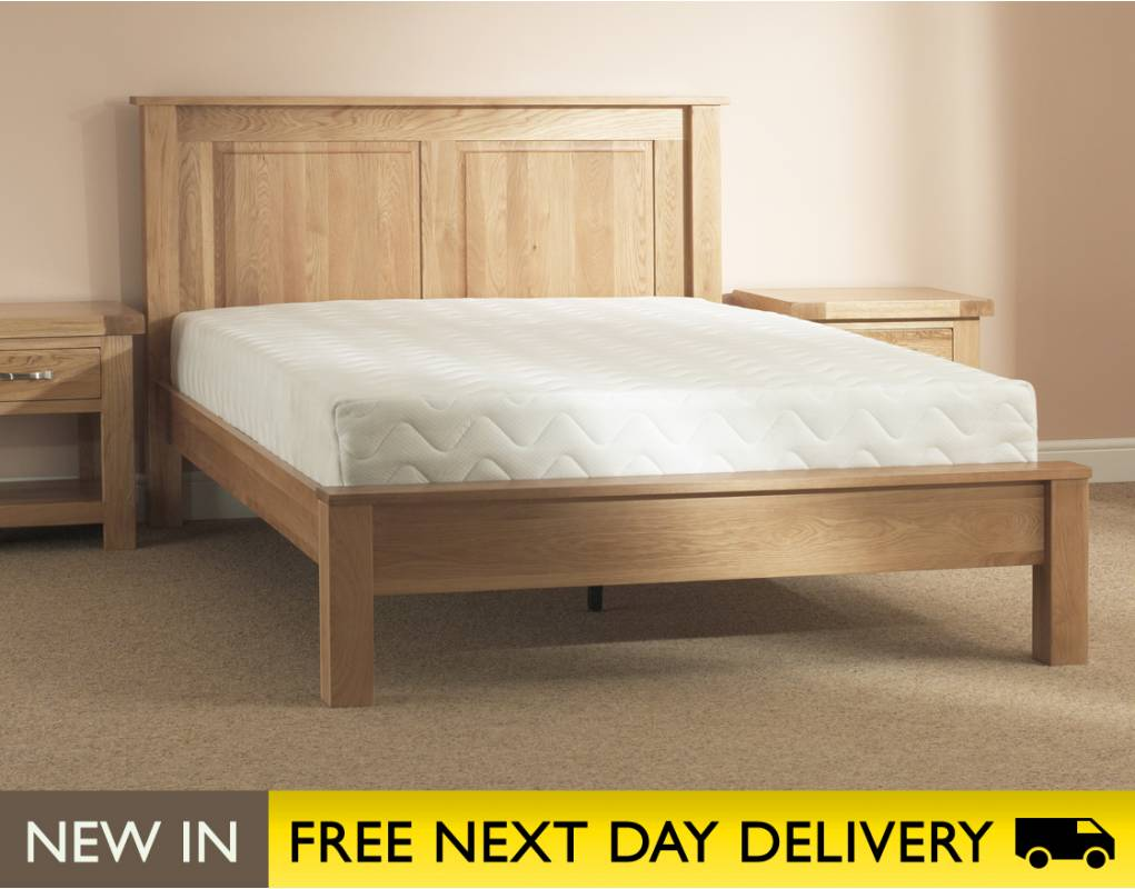Oakham super king size bed sleepy valley beds oakham 6ft for Strong wooden beds