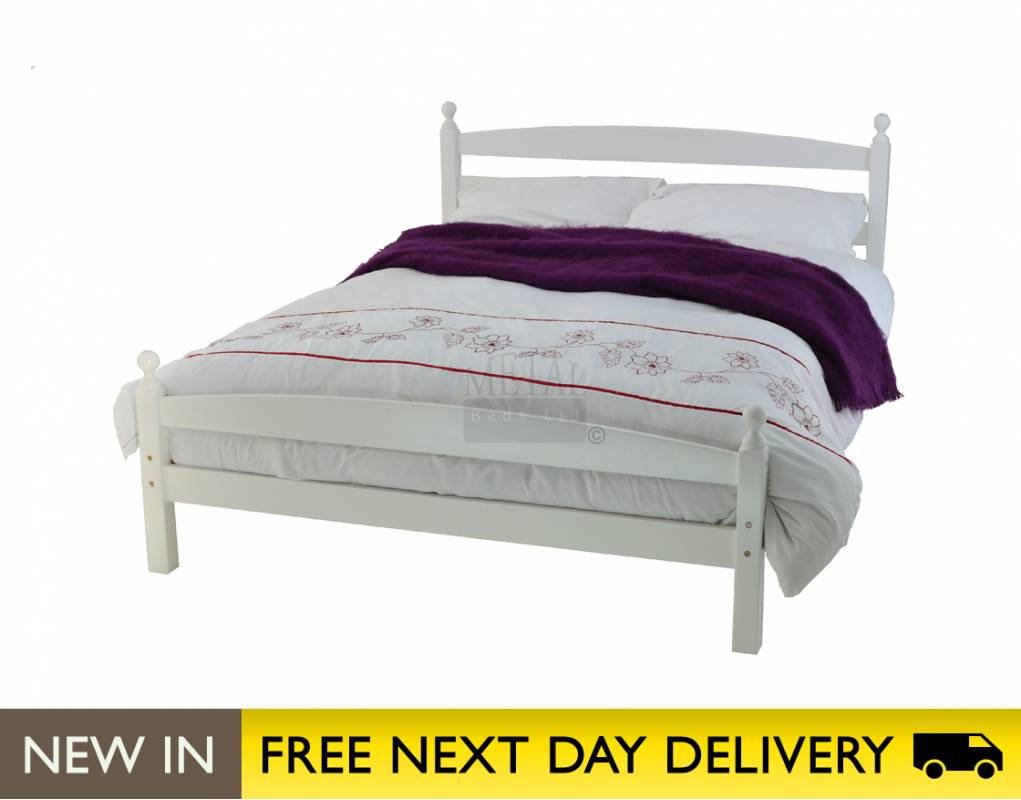 small double bed | cheapest Metal Beds Ltd Moderna 4ft bed white 1021 x 800
