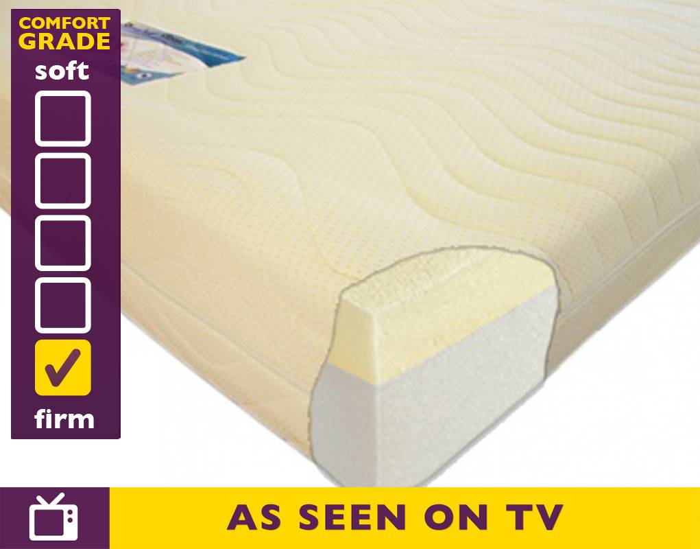 Slumber sleep 4ft6 double premium 2000 memory foam mattress online premium 2000 4ft6 double Double mattress memory foam