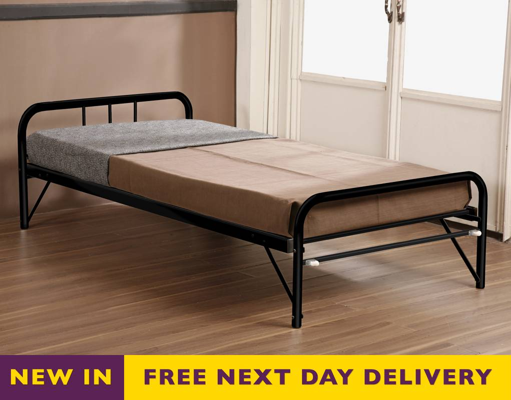 Joseph trundle 3ft single guest wooden bed mattress bed for Best time for mattress sales