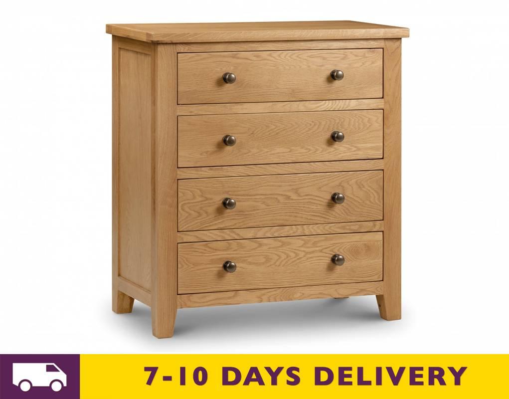 julian bowen marlborough 4 drawer chest
