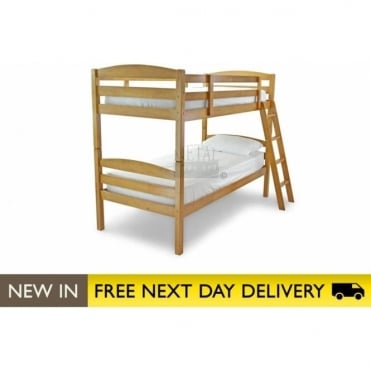 3ft Bunk Bed Antique Pine Wooden - Moderna bunk