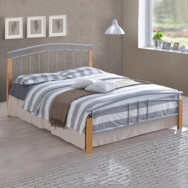e64bcd3f0ba6 Small Double Beds Time Living Metal Bed Frames