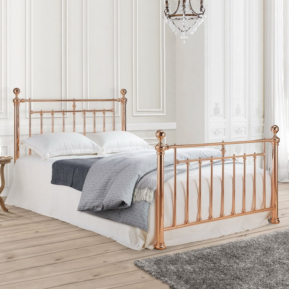 quality design 16b91 aa2e8 Alexander Rose Gold 4ft6 Double Bed