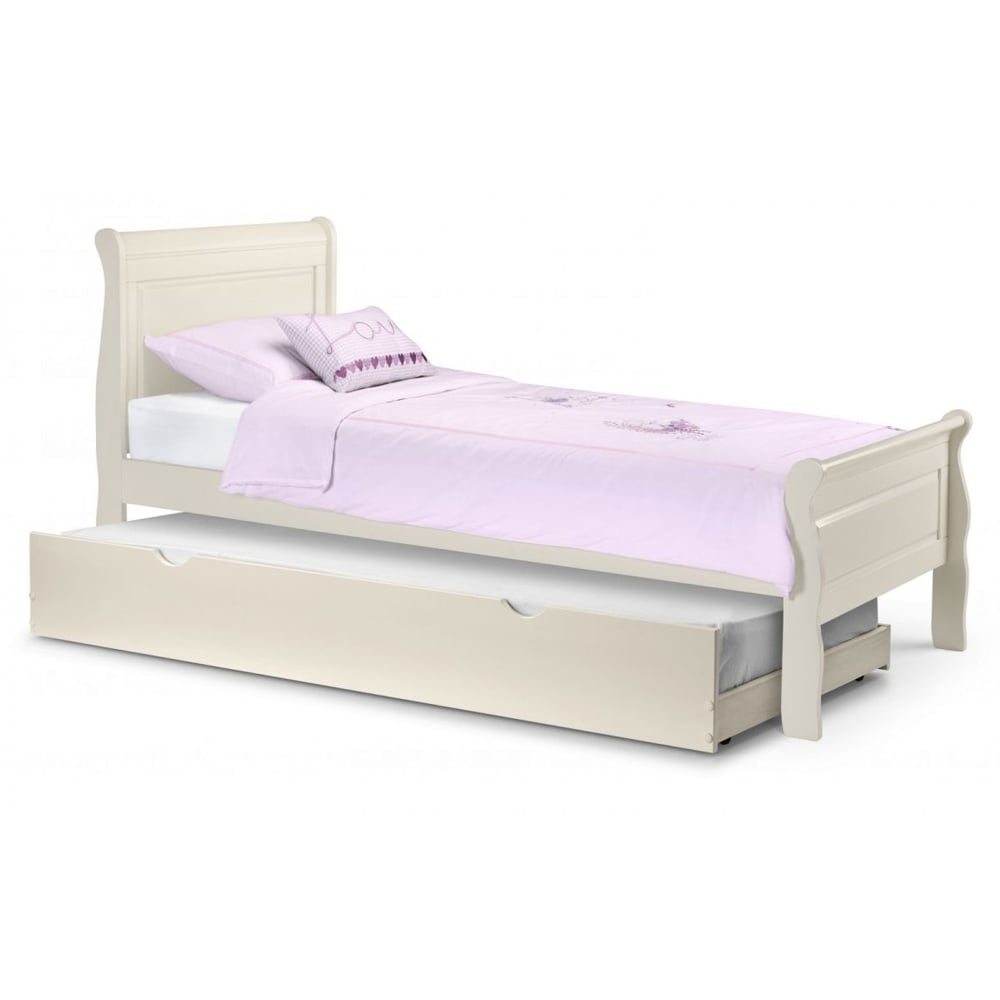julian bowen amelia sleigh bed 3ft single bed ame001. Black Bedroom Furniture Sets. Home Design Ideas