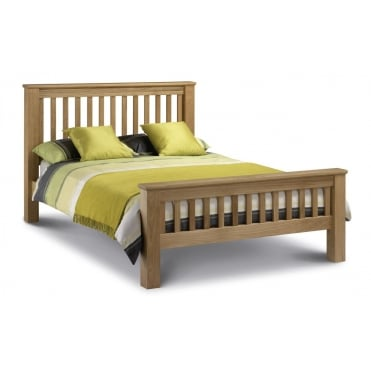 Amsterdam 4ft6 Double Solid Oak Bed