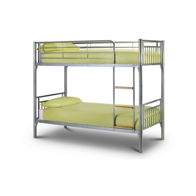 Julian Bowen Atlas 3ft Single Metal Bunk Bed