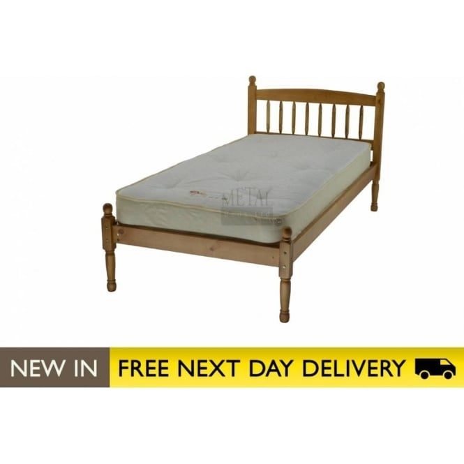 Metal Beds Ltd Baltic Pine 3ft Single Wooden Bed