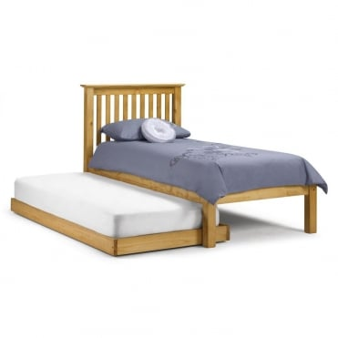 Barcelona Hideaway Pine 90cm Single Bed