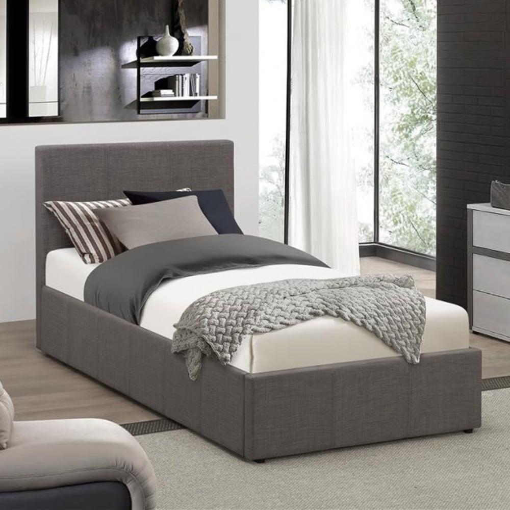 discounted birlea beds befot3gryv2 berlin 3ft single grey. Black Bedroom Furniture Sets. Home Design Ideas
