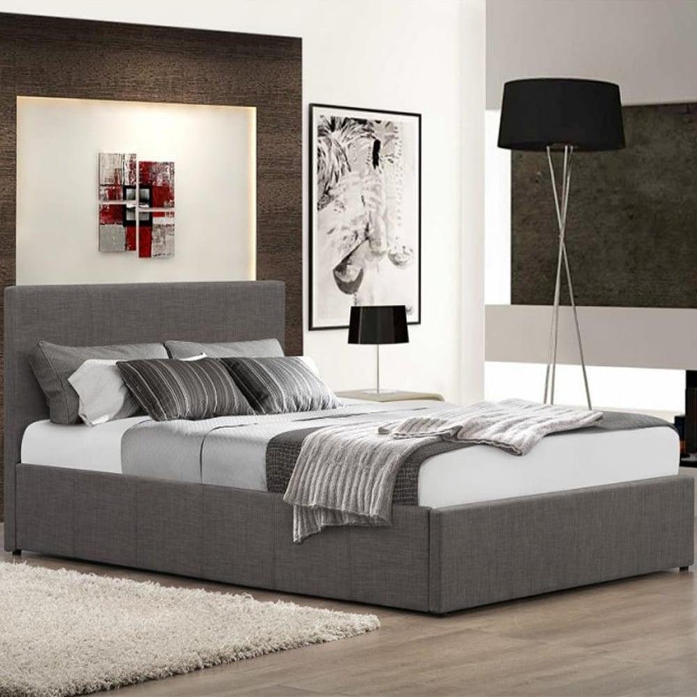 sale birlea beds befot4gryv2 berlin 4ft small double grey. Black Bedroom Furniture Sets. Home Design Ideas