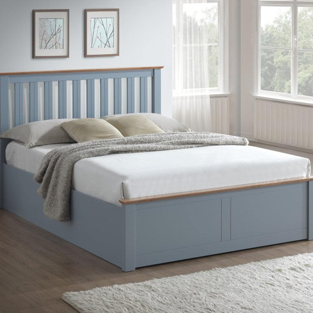 Strange Birlea Beds Photb5Stg Phoenix 5Ft King Size Stone Grey Ottoman Bed Forskolin Free Trial Chair Design Images Forskolin Free Trialorg