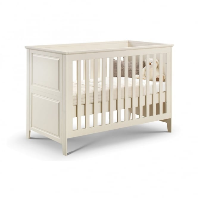 Julian Bowen Cameo Cotbed Stone White Lacquered Finish
