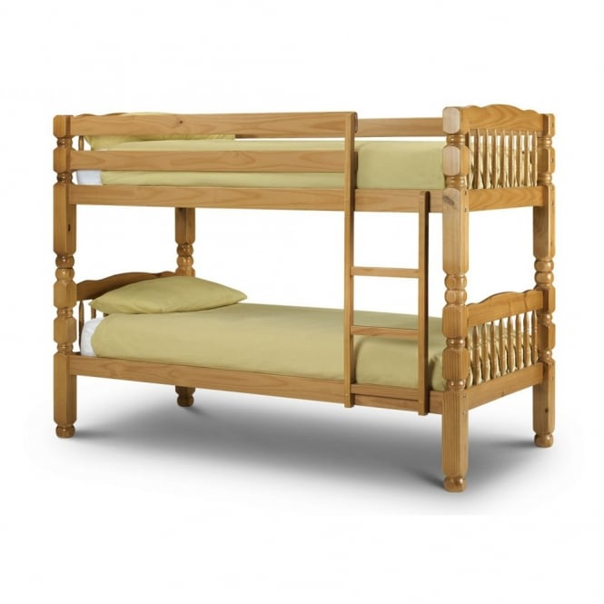 Julian Bowen Chunky 3ft Solid Pine Bunk Bed
