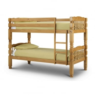 Chunky 3ft Solid Pine Bunk Bed