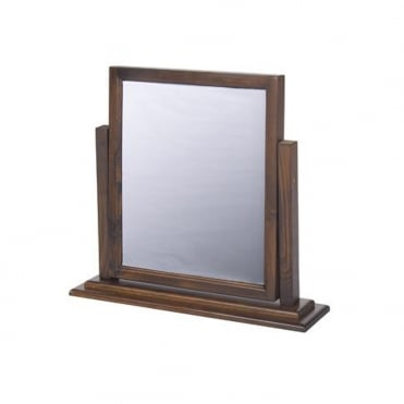 BT-MR1 Boston Dark Solid Wooden Mirror
