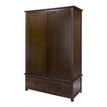 BT222 Boston Two Door Two Drawer Wardrobe