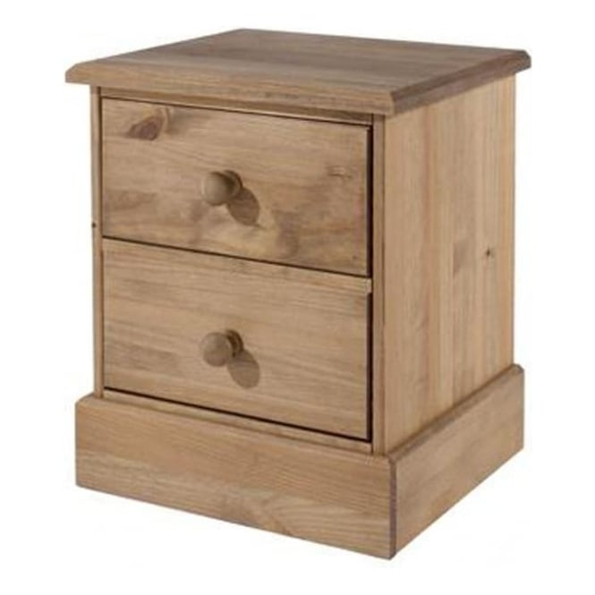 Core Products Ltd Cotswold 2 Drawer Bedside Cabinet CT310
