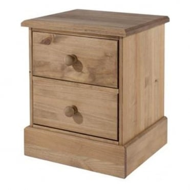 Cotswold 2 Drawer Bedside Cabinet CT310