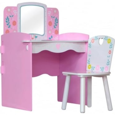 Country Cottage Dressing Table & Chair