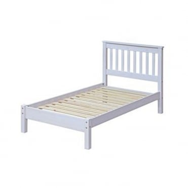 CRW300LE Corona White Wash 3ft Single Bed