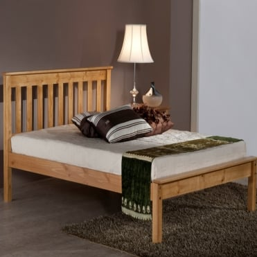 Denver 4ft Small Double Pine Bed