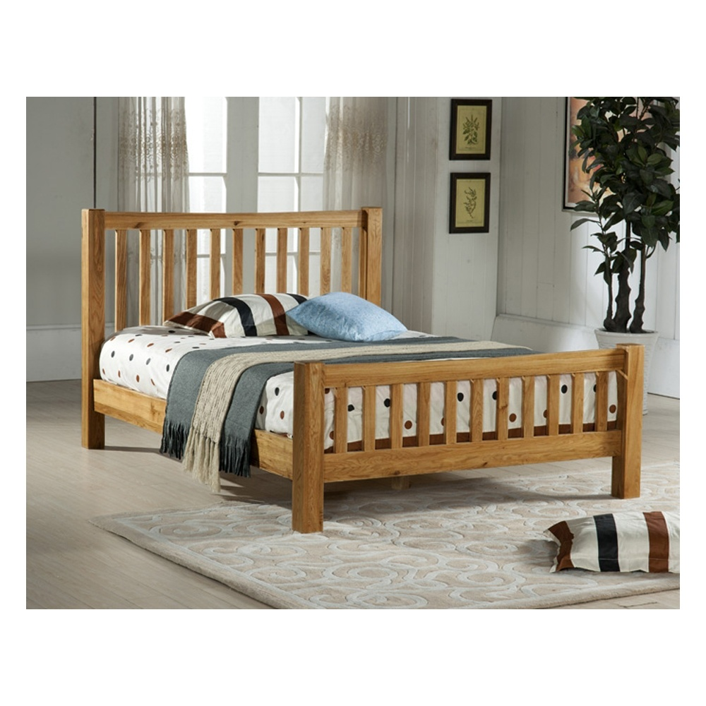 denver oak wooden single bed cheapest denver 3ft bed oak uk. Black Bedroom Furniture Sets. Home Design Ideas
